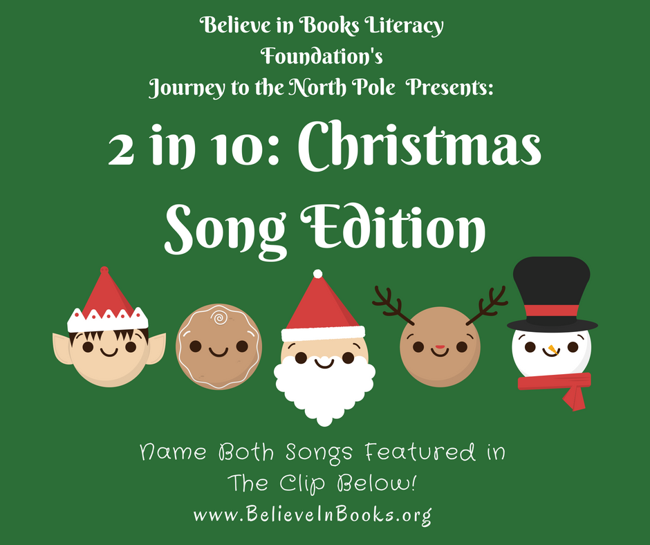 2 in 10: Christmas Song Edition – Round 3 – SOLVED!